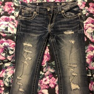 Women's Miss Me Cropped Jeans